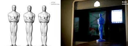 3D打印复活1929年小金人以用于2016年奥斯卡奖