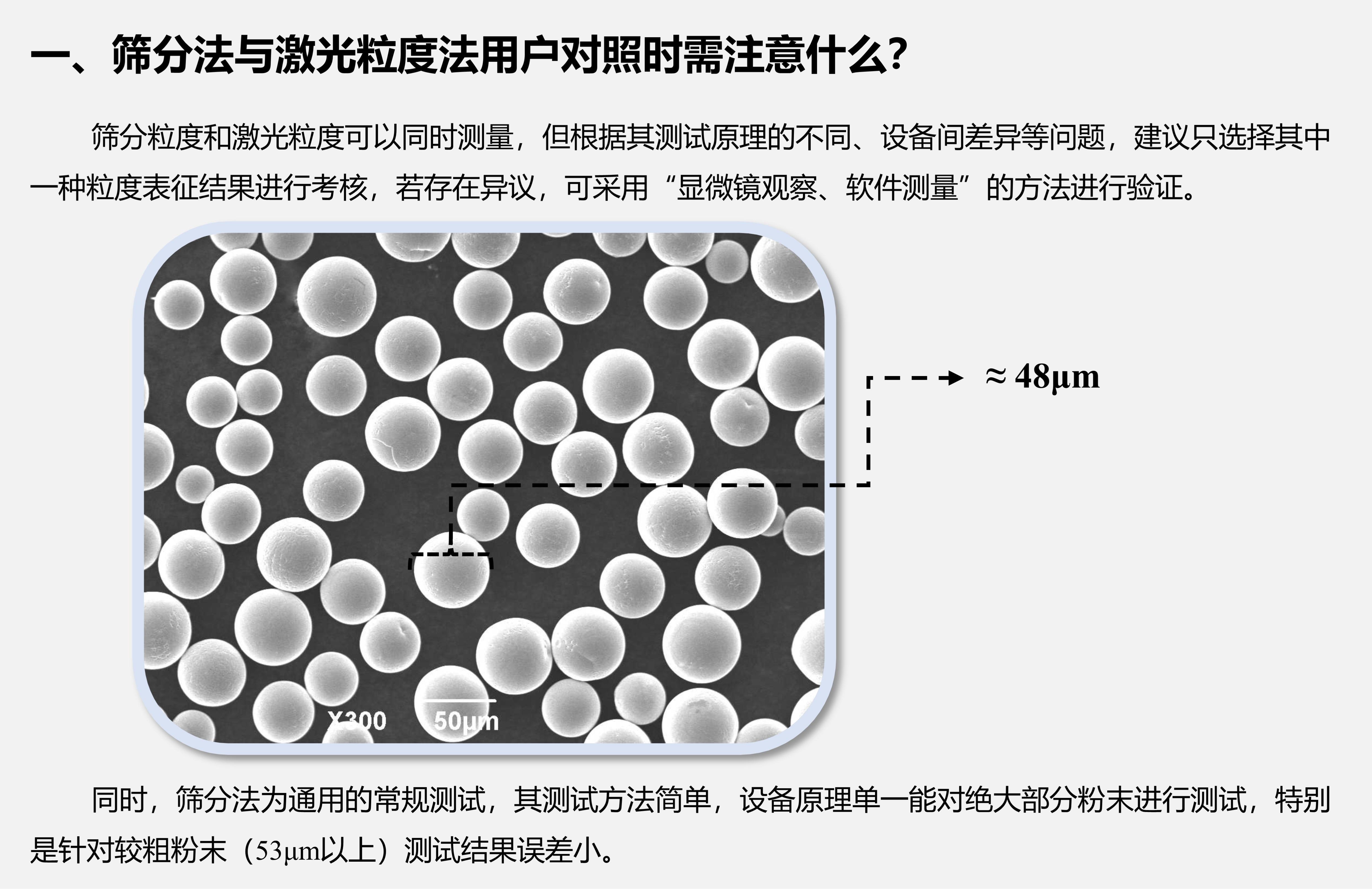 你想知道的粉末粒度分布检测在这里!(三)